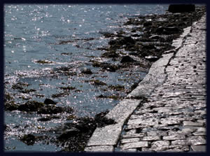 road to St Michael's Mount